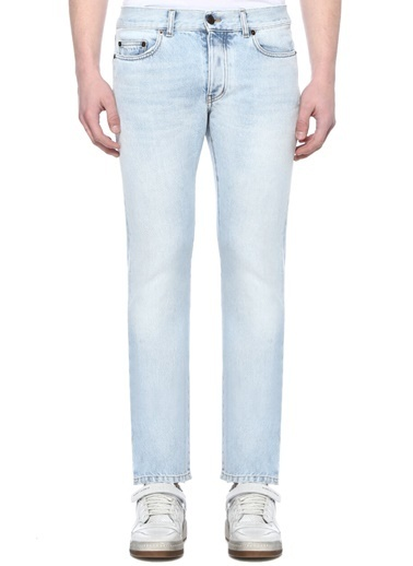 Saint Laurent Jean Pantolon Mavi
